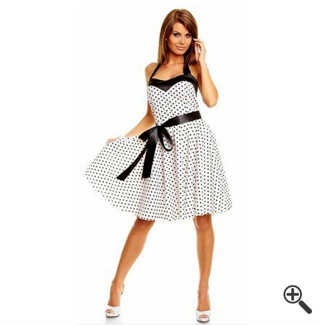 Petticoatkleid Weiß
