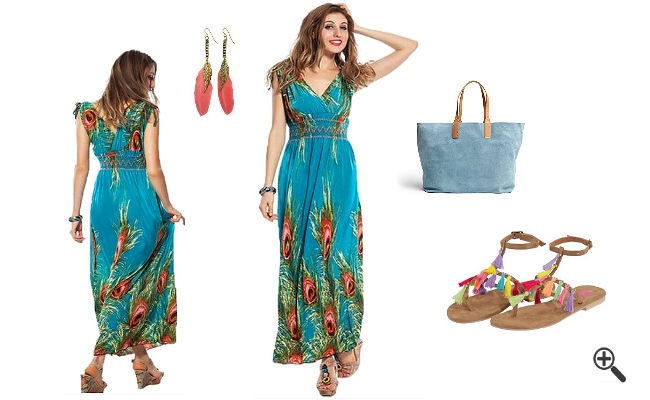 Strandkleider große Größen Sommer Outfits